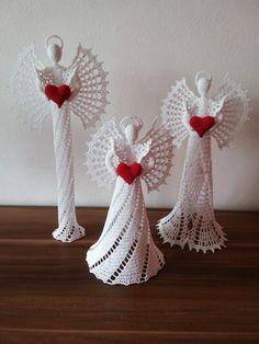 Exceptional Stitches Make a Crochet Hat Ideas. Extraordinary Stitches Make a Crochet Hat Ideas. Crochet Angel Pattern, Crochet Angels, Crochet Motif, Diy Crochet, Crochet Crafts, Crochet Dolls, Crochet Flowers, Crochet Projects, Christmas Crochet Patterns