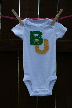 Baylor Bears Onesie by oohlalavish on Etsy, $13.00