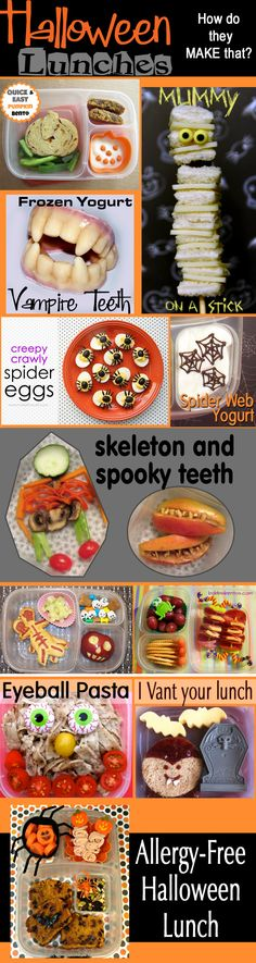 Halloween Lunches: How-to Edition