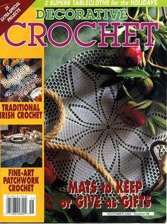 Decorative Crochet Magazines 60 - Gitte Andersen - Álbuns da web do Picasa
