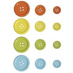 Gekleurde knopen mix 24 stuks. Deze vrolijke gekleurde knopenmix is leuk op elk knutselwerk. De maten van de knopen zijn ongeveer: 3 cm, 2 cm en 1,3 cm.