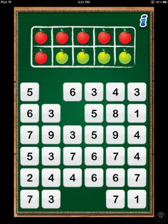 (free) Math Tappers: Find Sums app -- compatible numbers -- great one for my class! :: First Grade Garden: Apple-aholic {App Happy Linky}
