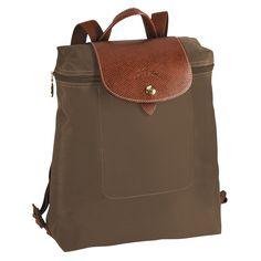 Le Pliage Backpack Longchamp Women S Handbags Green Backpacks