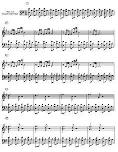 Music Notes for COMPTINE D`UN AUTRE ÉTÉL`APRES MIDIfrom Amélie Poulain movie