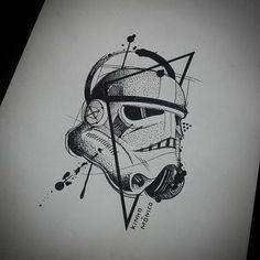 Resultado de imagem para stormtrooper desenho