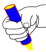 """Skills for Kindergarten  So how exactly do I teach the correct method to my son? I have tried the special pencils and grippers and he still """"fists"""" it."""
