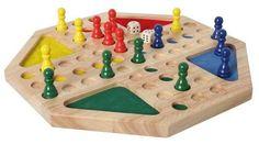 Bartl,Ludo achteckig, für ein bis vier Spieler, versenkte Spielfelder geeignet für Kinder und Senioren | 0962 / EAN:04032821015280
