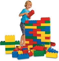 LEGO Education SOFT BRICKS SET 6033778, 84 Large Learning LEGO BRICKS  #LEGOEducation