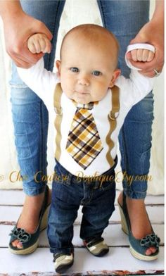 Too cute. Outfit for baby boy