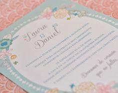 Las invitaciones de boda de Lovely Paper