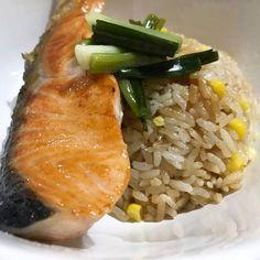 Salmon yakizuke and