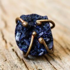 Lapis Crystal Ring now featured on Fab.