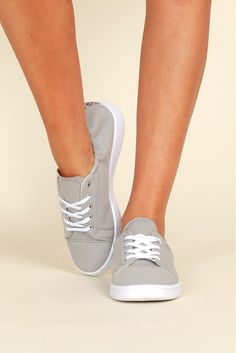 Step To It Sneaker Grey