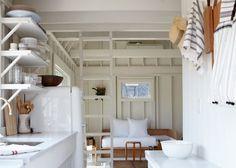 Budget beach house remodel: Ann Stephenson and Lori Sacco's Fire Island A-frame