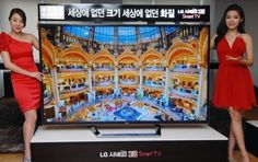 LG 84-inch 4K Ultra Definition 3D TV
