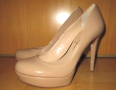 * * * Jessica Simpson Lack-Stilettos beige, Gr.38M * * * Jessica Simpsons, Stilettos, Heels, Louboutin Pumps, Christian Louboutin, Beige, Ebay, Fashion, Clothing Accessories