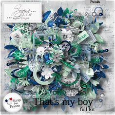 That's my boy * full kit * by Jessica art-design