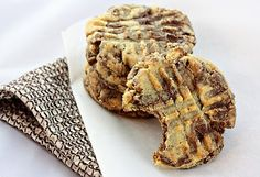 Peanut Butter & Nutella Swirl Cookies...need I say more, Nutella.