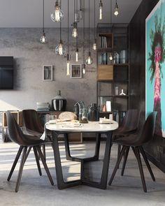 Casinha colorida: Luminárias pendentes nas salas de estar, como usar?