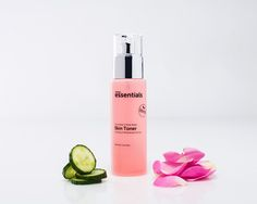 A Skin Toner with all Natural goodness of Cucumber and Rose Water #herbalessentials #naturalskincare #skintoner