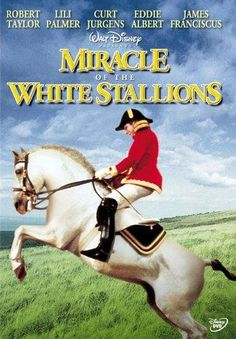 Miracle of the White Stallions (1963) Robert Taylor, Lilli Palmer - In WWII Austria, Col. Alois Podhajsky must protect his beloved Lipizzaner stallions and make sure that they are surrendered into the right hands. But Patton's something of a horse fancier and can help...if he sees the stallions perform. Disney film but the stallions are wonderful. I saw this as a kid and still remember it.