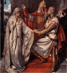 GUINEVERE & KING ARTHUR  6th Century  Arthur and Guinevere are mainly the stuff of myth and folklore — the most famous example of which is perhaps the legend of the sword Excalibur.