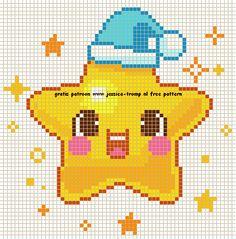 Baby cross stitch. Star X-S.