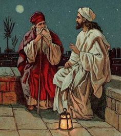 LEIA A BIBLIA , ELA É A PALAVRA DE DEUS: O Encontro de Jesus com Nicodemos