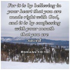 Romans 10:10