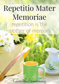 All right repetitio mater memoriae sounds wonderful, but what exactly does it mean and why is it a principle of classical education? Homeschool Preschool Curriculum, High School Curriculum, Homeschooling, Middle School Boys, Classical Education, Organizer, Planer, History Medieval, Medieval Times