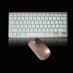Mini 2.4G wirelss ultra slim keyboard and mouse set