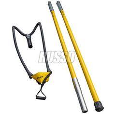 Jameson Sling Shot Throw Line Launcher 8' Two 4' Pole Bigshot Slingshot Arborist