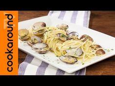 Spaghetti alle vongole in bianco / Ricetta di pesce - YouTube