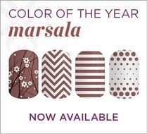 The color of the year wraps are available now. That flower one is just stunning!!