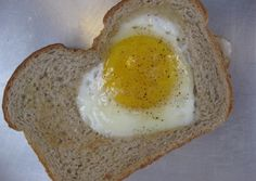 a 'heart-in-a-hole' too cute! perfect valentine's day breakfast for your special someone!