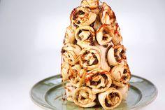 Cinnamon Roll Tower Carla Hall