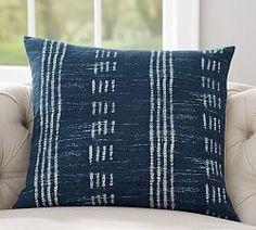 Pottery Barn~ denim pillow...