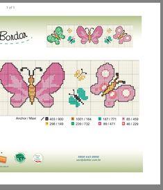 Butterfly Cross Stitch, Butterflies, Projects To Try, Fine Art, Patterns, Crochet, Cross Stitch For Baby, Crochet Dresses, Tape