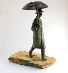 Man with Umbrella, Uri Dushy
