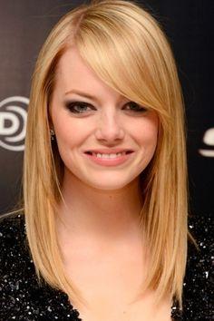 Medium Length Hairstyles For Fine Hair Round Face
