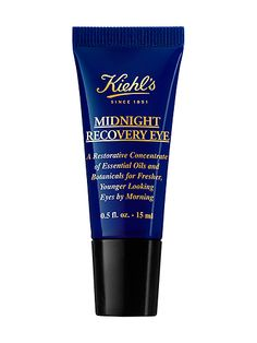 They say: Kiehl's promises fresher, younger looking skin and reduced appearance of fine lines by morning thanks a cocktail of Butcher's Broom, Squalane, Evening Primrose and Lavender specifically formulated for the delicate under-eye area.We say: I've been using this cream for two weeks but noticed results pretty much straight away. It got rid of any puffiness or dark circles and eyes definitely looked fresher - no mean feat after six hours sleep. No need to wear eye cream during the day ...