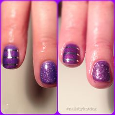 Color changing gel polish!   #nails #nailart #gelish #gelishart #gelishnailart #nailsbykatdog