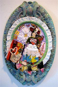 Mexican FIESTA Folk ART Mixed Media mybonny