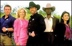 Gage, Alex, Walker, Trivette, Sydney   on walker texas ranger