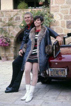 Steven and Neile McQueen
