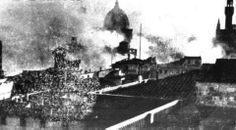 Florence in war, fire