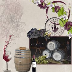 Wine Kegs - Digi Bring Me Wine Wine Kits, Apple Fruit, Store Displays, Mystery, Scrapbooking, Home Decor, Gallery, Happy, Ideas