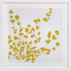 Forsythia by Vanessa Wyler at minted.com