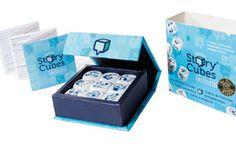 Carte e giochi da tavolo per inventare fiabe, favole e racconti - Story Cubes Actions - Dadi Cantastorie - Hutter - 01