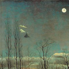 A Carnival Evening (Detail) - Henri Rousseau 1886 French 1844-1910